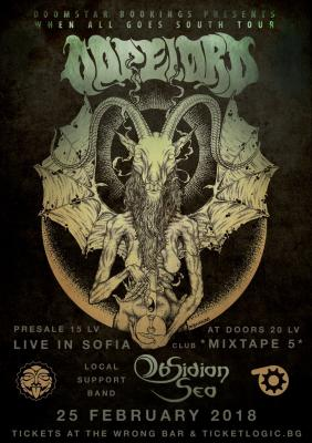 Dopelord /PL/ & Obsidian Sea live in Sofia