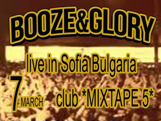 Booze & Glory /UK/ live in Sofia
