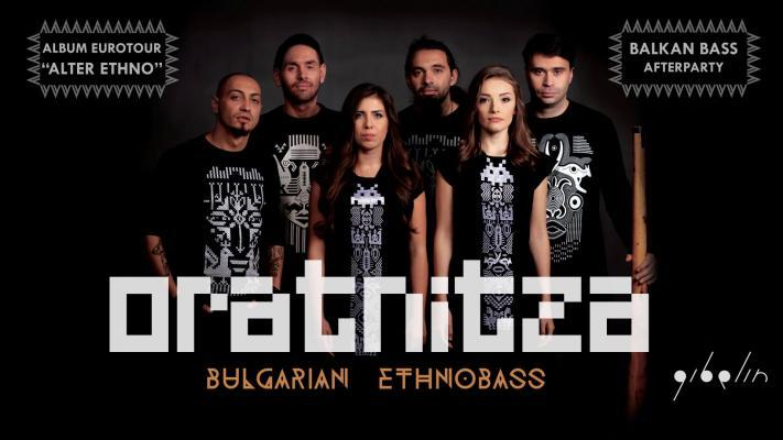 Oratnitza (Balkan Ethnobass) Album Tour Alter Ethno / Luxembourg