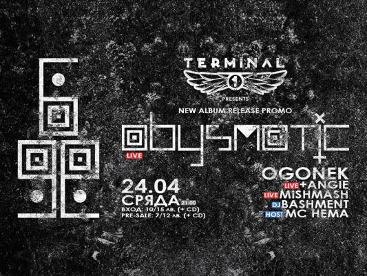 Abysmatic New Album Release Promo at Terminal 1