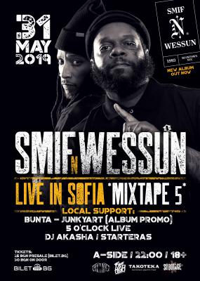 Smif-N-Wessun live at club *Mixtape5* / 31.05.19