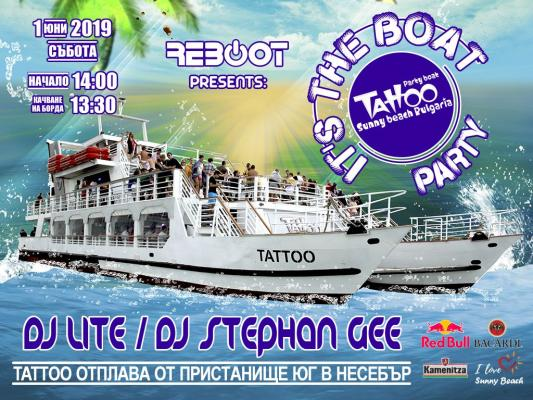 IT'S the BOAT PARTY