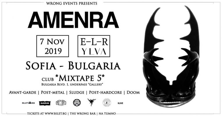 Amenra (Be) live in Sofia
