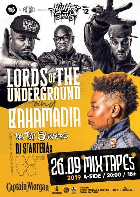 HHS Vol12: Lords Of The Underground & Bahamadia at club Mixtape5