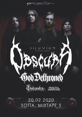 Obscura & God Dethroned live in Sofia!