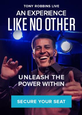 UNLEASH THE POWER WITHIN WITH TONY ROBBINS, Birmingham, 21st-24th May, 2020