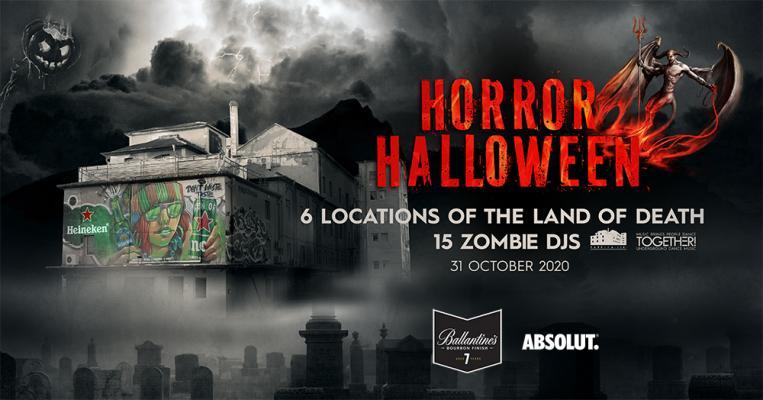 Horror Halloween 2020 x Fabrica 126