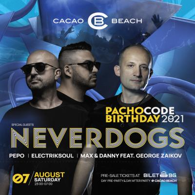 PACHO CODE Birthday 2021/ guests Neverdogs, Italy - 07.08.2021