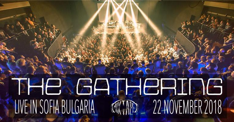 The Gathering live in Sofia, Bulgaria