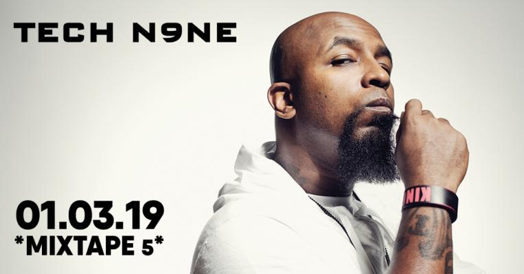 TECH N9NE live at club *Mixtape 5* / 01.03.2019